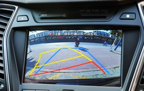 怎么看倒车影像轨迹线