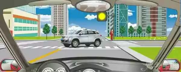遇到这种情况的路口怎样通过?