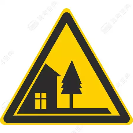 这个标志的含义是提醒车辆驾驶人前方路段通过村庄或集镇。