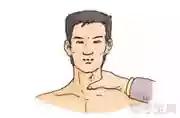 如图所示的颈总动脉压迫止血法,是指在气管外侧,胸锁乳深肌前缘,将伤侧颈动脉向后压于( )。