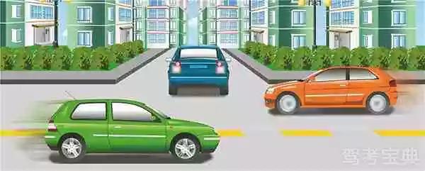 机动车倒车时遇到这种情况怎样做以保证安全?