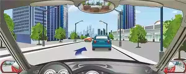 驾驶机动车遇到这种情况怎样做最安全?
