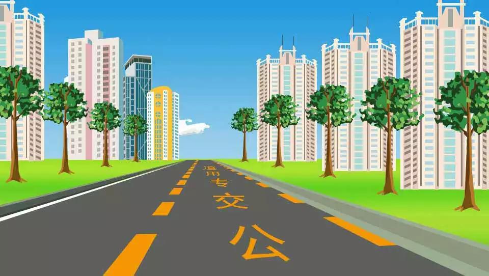 道路上划设这种标线的车道内允许下列哪类车辆通行?