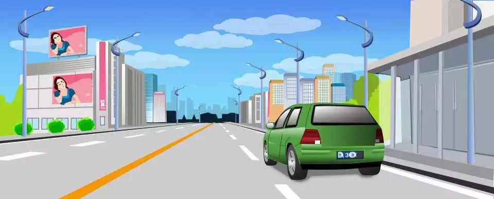 驾驶这种机动车上路行驶没有违法行为。